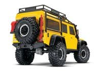 Traxxas Yellow Land Rover Defender TRX-4  Yellow T1:10 4WD Electric Scale & Trail Crawler